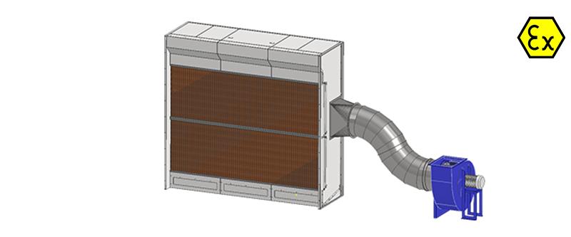 catitera-cabina-absorbanta-cu-filtre-uscate-cu-ventilator-in-exteriorul-cabinei-ZFU-FLAT
